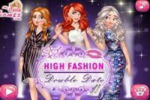 Ariel, Elsa, Anna: High Fashion Show