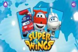 Super Wings Memory